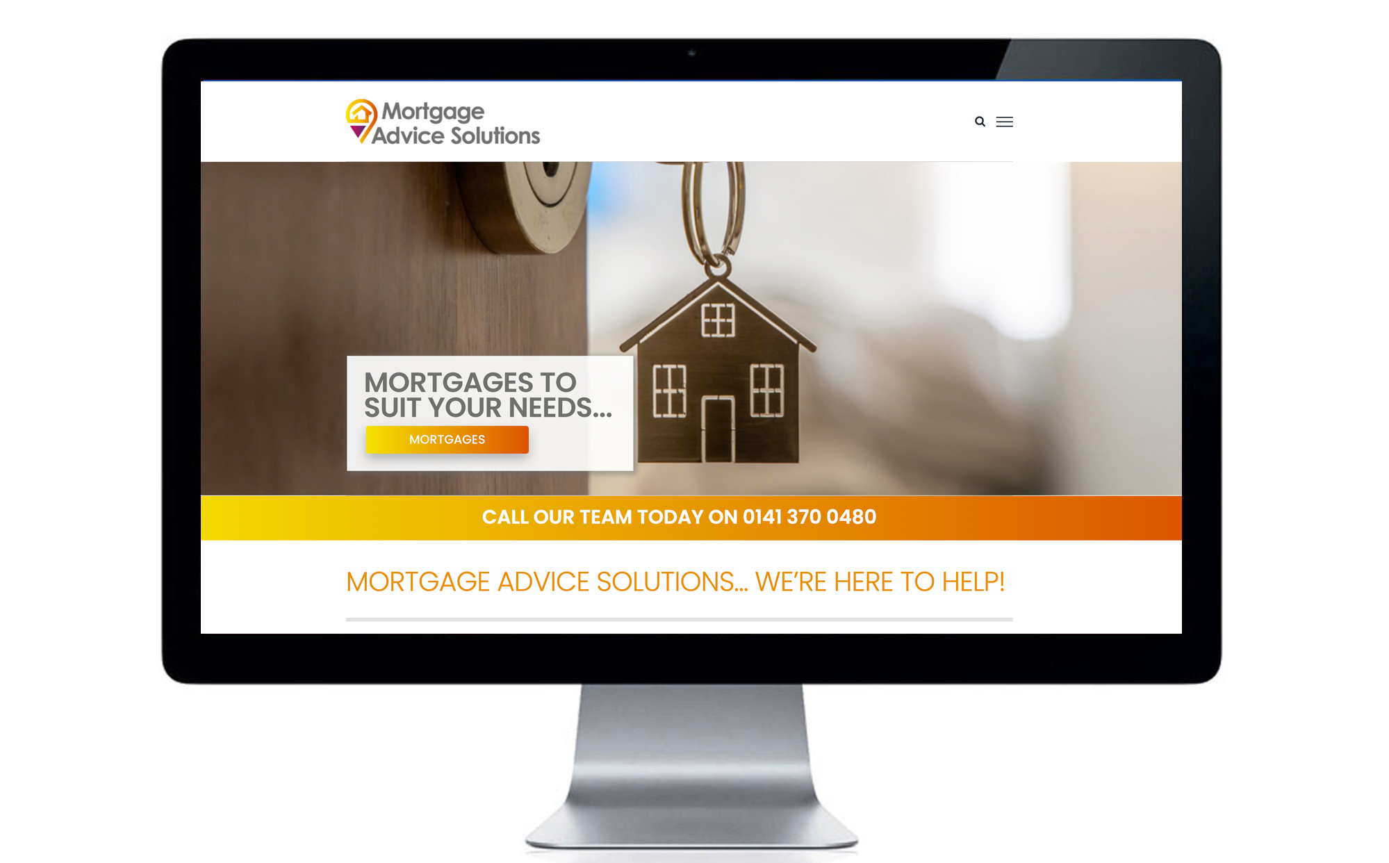 Mortgage Advice Solutions Website