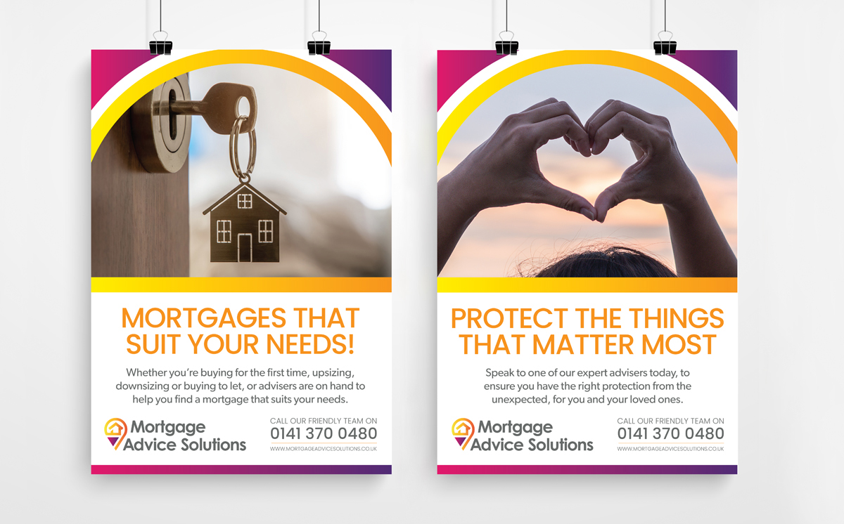 Mortgage Advice Solutions Poster 2